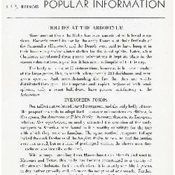 Bulletin of Popular Information V. 14 No. 07