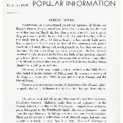 Bulletin of Popular Information V. 15 No. 09