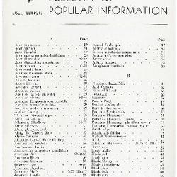 Bulletin of Popular Information V. 14 No. 05