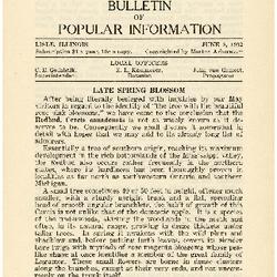 Bulletin of Popular Information V. 09 No. 10