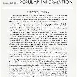 Bulletin of Popular Information V. 14 Index