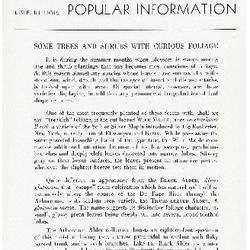 Bulletin of Popular Information V. 15 Index