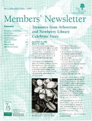 Members' Newsletter: November/December 1997