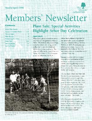 Members' Newsletter: March/April 1998