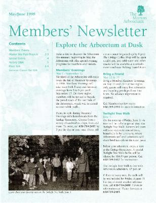 Members' Newsletter: May/June 1998