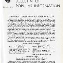 Bulletin of Popular Information V. 23 No. 09