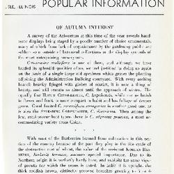 Bulletin of Popular Information V. 19 No. 07