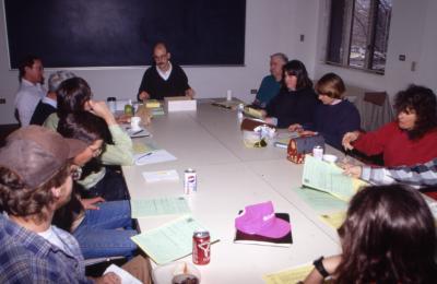 Plant Clinic staff/volunteer meeting