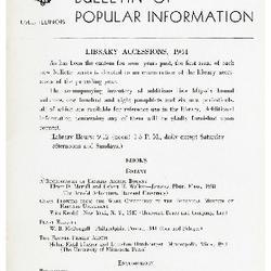 Bulletin of Popular Information V. 19 No. 11-12