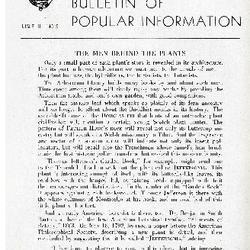 Bulletin of Popular Information V. 23 No. 05