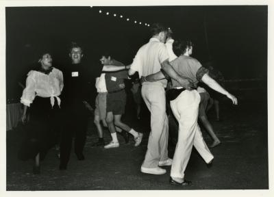 Volunteer Night - several dancers