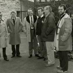 Victory Gardens TV - (L to R): Joe Larkin, Tom Green, Tony Tyznik, John Neron, Bob Thomson, Bill Brain