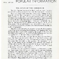 Bulletin of Popular Information V. 22 Index