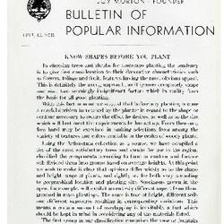 Bulletin of Popular Information V. 23 No. 08