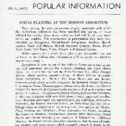 Bulletin of Popular Information V. 19 No. 01