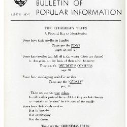 Bulletin of Popular Information V. 23 No. 06