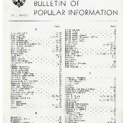 Bulletin of Popular Information V. 22 No. 01