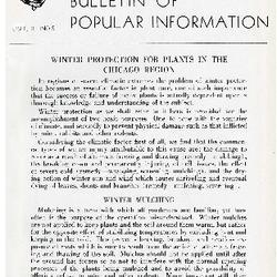 Bulletin of Popular Information V. 23 No. 11