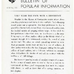 Bulletin of Popular Information V. 20 No. 01