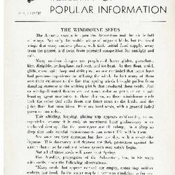 Bulletin of Popular Information V. 22 No. 10