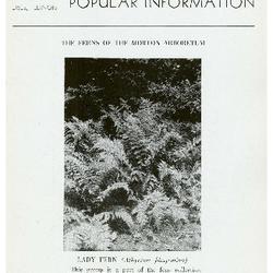 Bulletin of Popular Information V. 21 No. 06-07