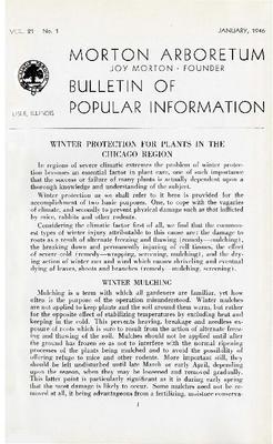 Bulletin of Popular Information V. 21 No. 01