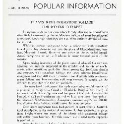 Bulletin of Popular Information V. 16 No. 10