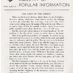 Bulletin of Popular Information V. 22 No. 09