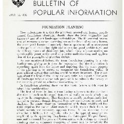 Bulletin of Popular Information V. 24 No. 01