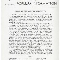 Bulletin of Popular Information V. 19 Index