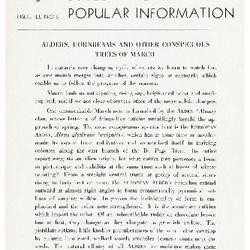 Bulletin of Popular Information V. 17 No. 10
