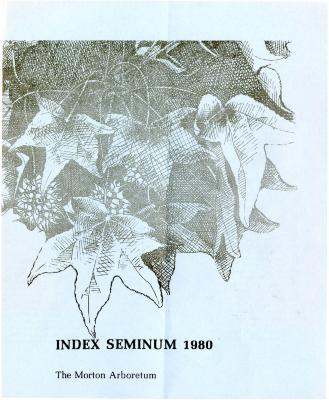 Index Seminum 1980