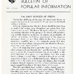 Bulletin of Popular Information V. 23 No. 03
