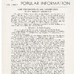 Bulletin of Popular Information V. 22 No. 02