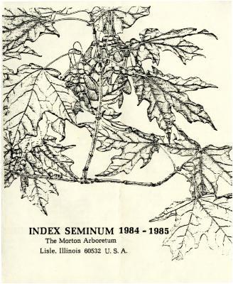Index Seminum 1984-1985