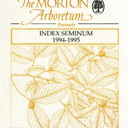 Index Seminum 1994-1995