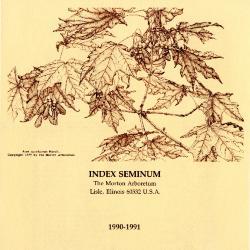 Index Seminum 1990-1991