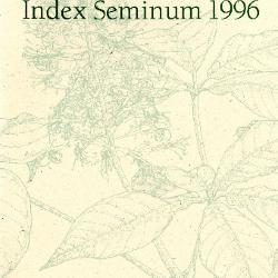 Index Seminum 1996