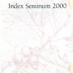 Index Seminum 2000