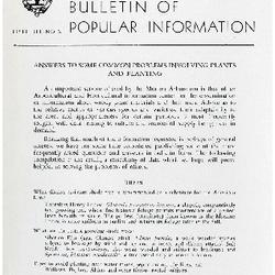 Bulletin of Popular Information V. 31 No. 03