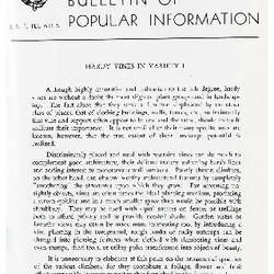 Bulletin of Popular Information V. 29 No. 05