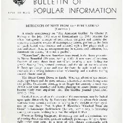 Bulletin of Popular Information V. 30 No. 09