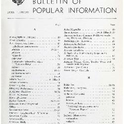 Bulletin of Popular Information V. 30 No. 07
