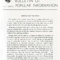 Bulletin of Popular Information V. 30 No. 05