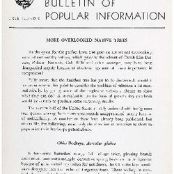Bulletin of Popular Information V. 31 No. 05