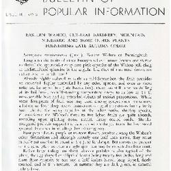 Bulletin of Popular Information V. 30 No. 06