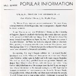 Bulletin of Popular Information V. 27 No. 05