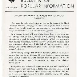 Bulletin of Popular Information V. 26 No. 10