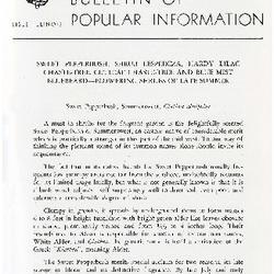 Bulletin of Popular Information V. 30 No. 04