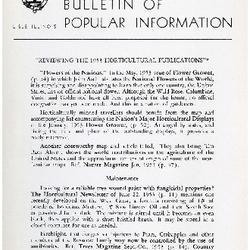 Bulletin of Popular Information V. 31 No. 08